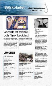 Björkbladet juni