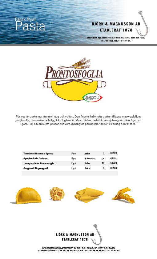 Pasta Surgital up